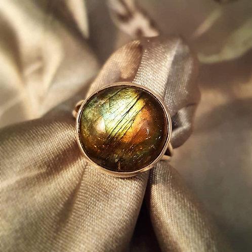 Labradorite Sterling Silver Handmade Ring