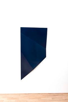 ÖMER PEKİN, Untitled (Color&Patterns), 2018, Powder coatedsteel, 155x 85x 325 cm, Unique, Not available