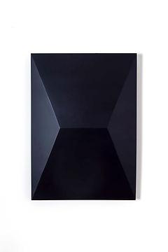 ÖMER PEKİN, Untitled (Poster-01), 2018,Lacquered steel, 50x 70x 10cm, Unique