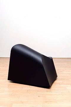 ÖMER PEKİN, Untitled (Freestanding), 2018,Lacquered steel, 75x 75x 60cm, Unique, Not available