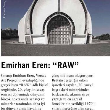 EMİRHAN EREN  | RAW