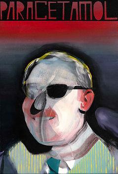 SABO, Paracetamol, 2018, Oil on canvas, 50 x 35 cm