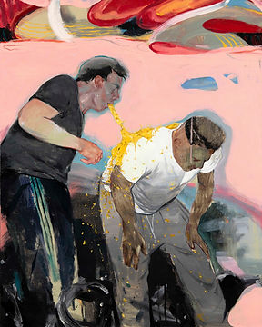 SABO, Kapıya Varmıştık Oysa ki, 2018, Oil on canvas, 100 x 80 cm