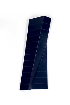 ÖMER PEKİN, Untitled 18, 2020, Lacquered and Welded Aluminium, 160x 50x 20cm, Unique, Not available