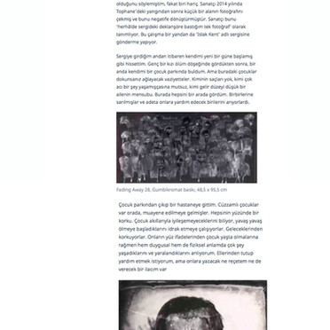 YUSUF MURAT ŞEN | FADING AWAY