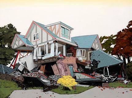 SABO, Tornado, 2017, Oil on canvas, 90 x 120 cm, Not available