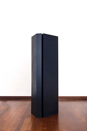 ÖMER PEKİN, Untitled 17, 2019, Lacquered steel, 180x 45x 70cm, Unique