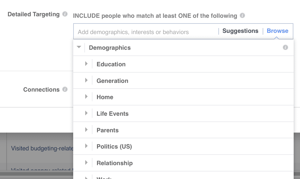 demographic in targeting audience