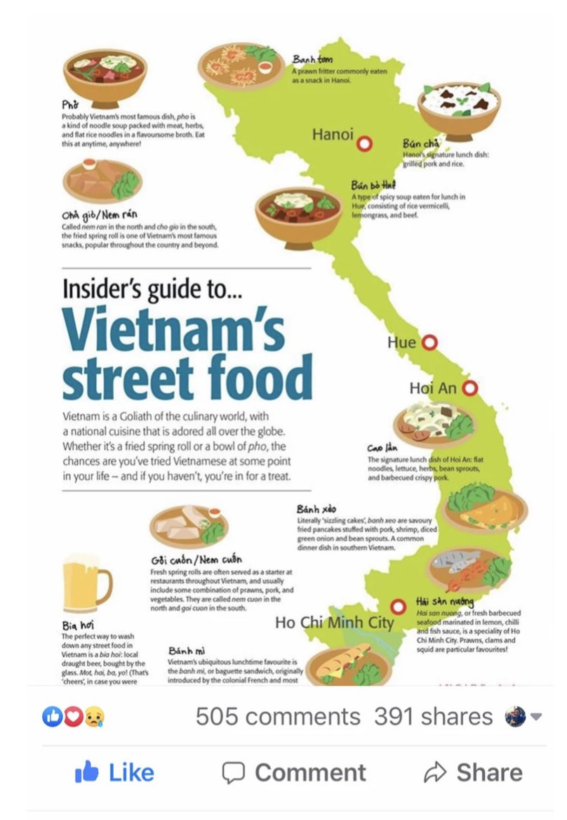 infographic of Truly Viet