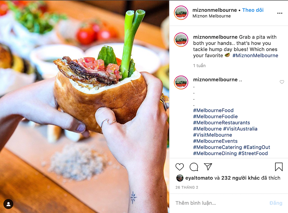 instagram change the way we eat