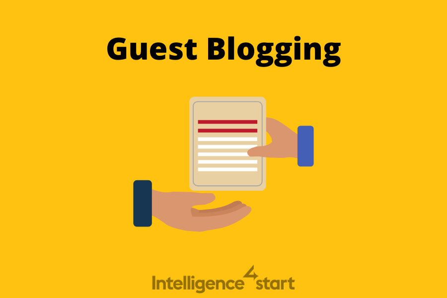 guest blogging in backlink building