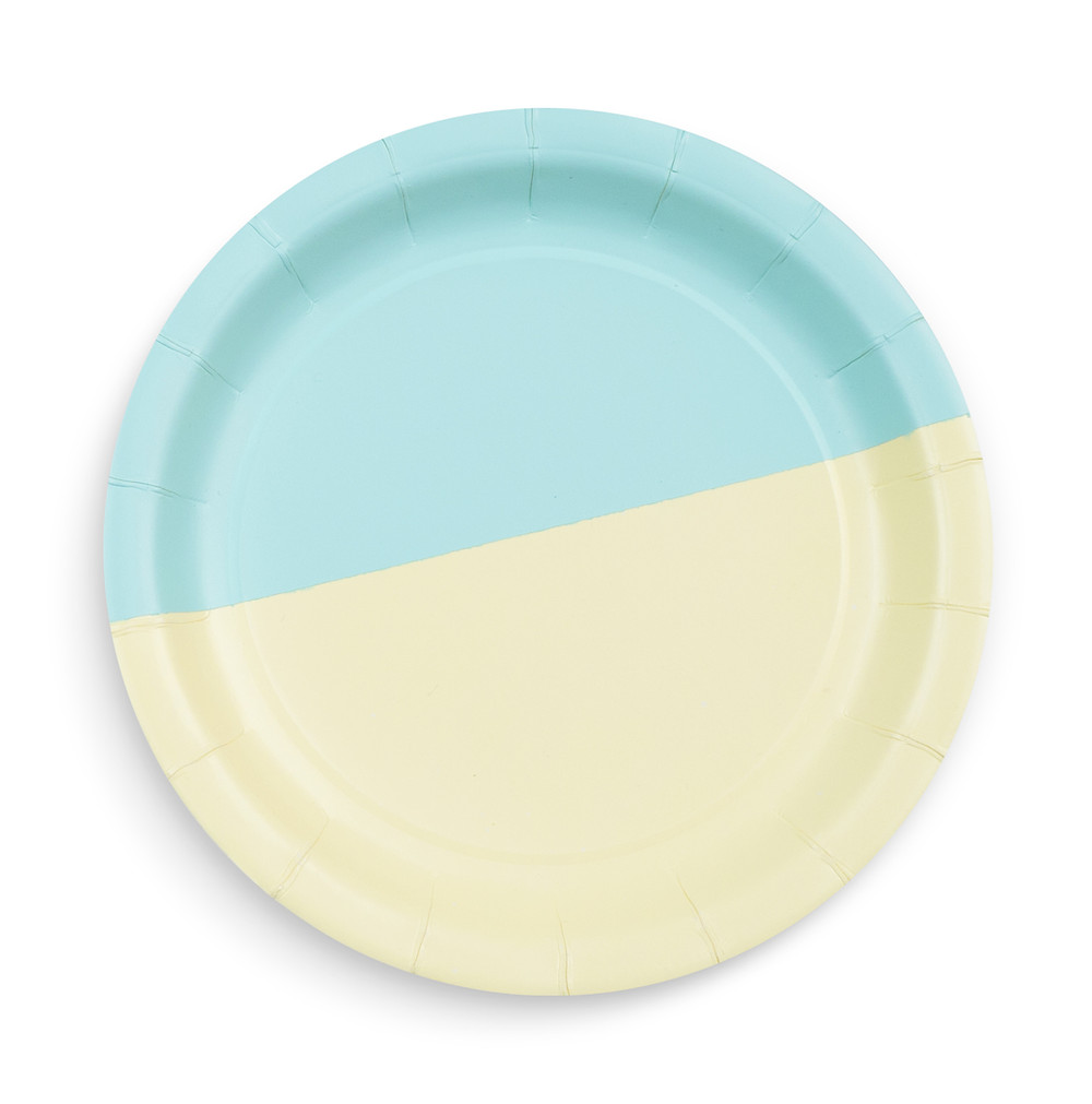 Paper plates should be composted