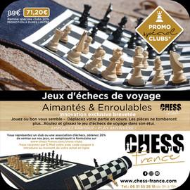 Remise jeux d'échecs spécial clubs