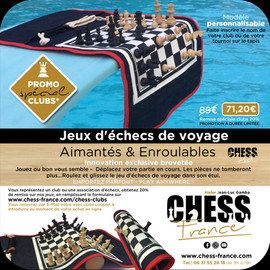 Promotion chess france special club
