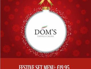Christmas at Dom's Tavola Calda.