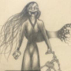 La Llorona with Skull Image 2.JPG