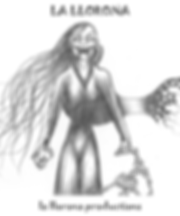 La Llorona with Skull Image png to amazo
