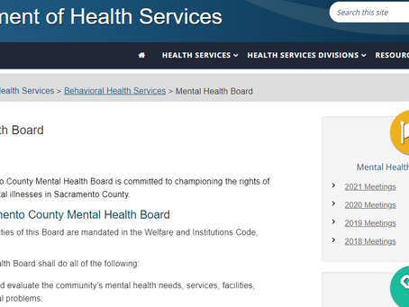 What's Happening on the Sac County Mental Health Board?