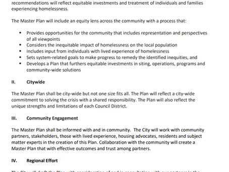 Sac City's Master Plan for Addressing Homelessness