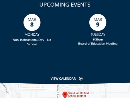 Public Comments at San Juan Unified School District Board