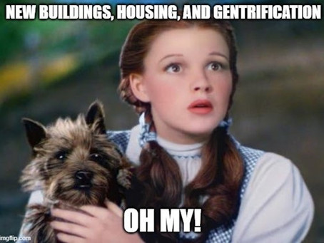 Houses, Gentrification, and Building….Oh My!