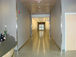 1st floor hallway leading to lobby