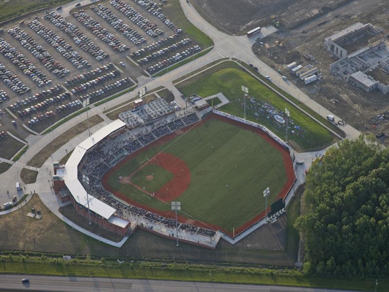 aerial stadium