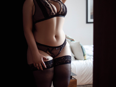 Smart and well educated, sexually adventurous and really appears to enjoy her work.