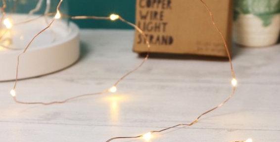Copper Wire Light Strand