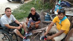 Horacio with Belizean Missionaries