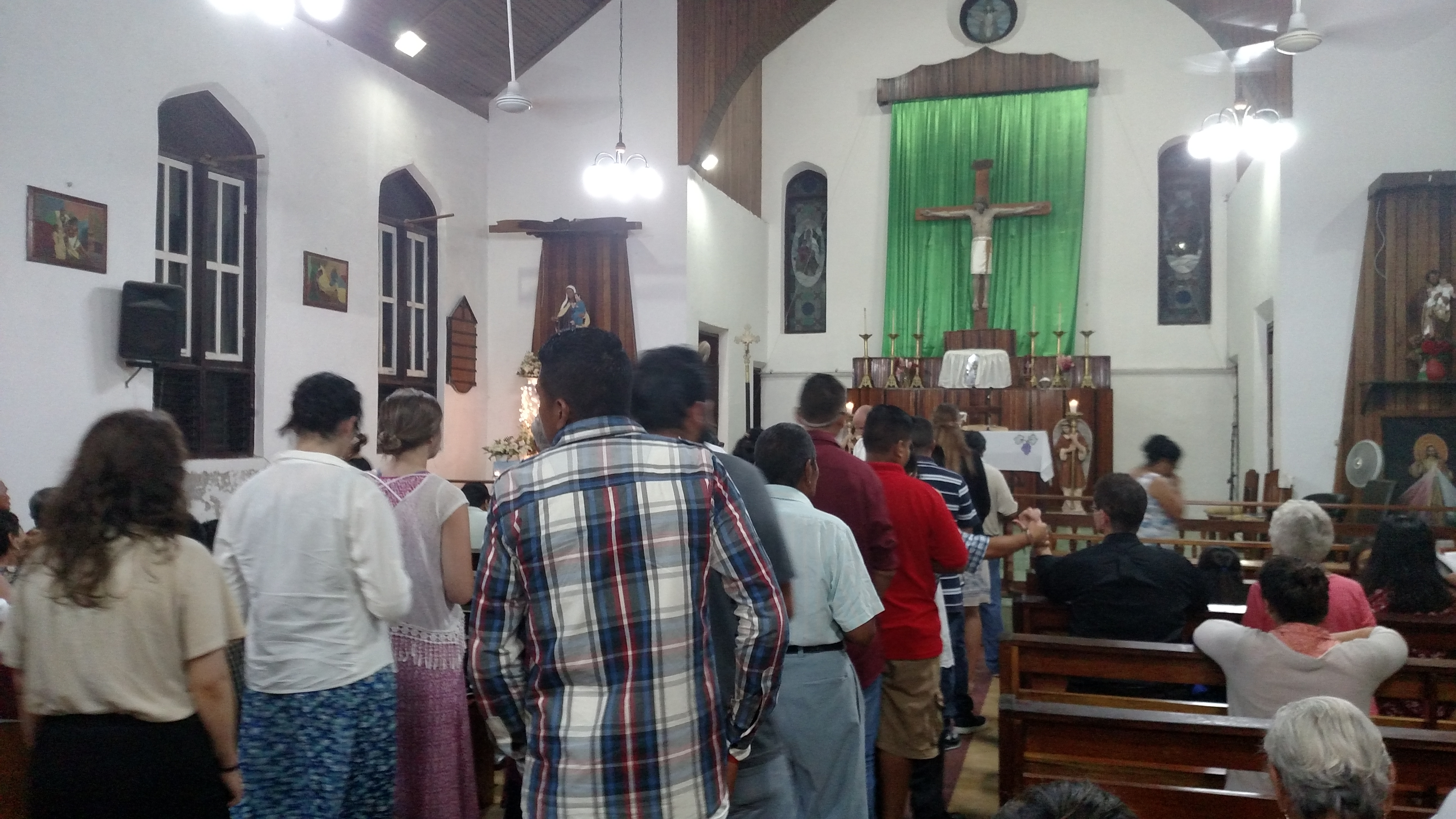 Mass in Benque