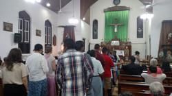 Mass in Benque