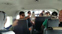 Flying to San Pedro