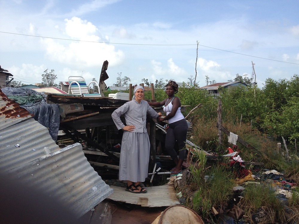 Serving those whose homes were destroyed in Hurricane Earl