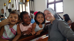 Sister with Children