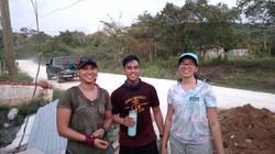 Rikki, Micah, and Cynthia