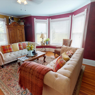 Farm House Red Room