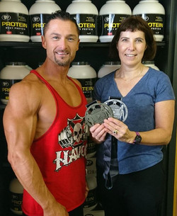 Competed in RIUP Men's Physique Masters and Fitness Model placing 2nd earning a place in British Fin