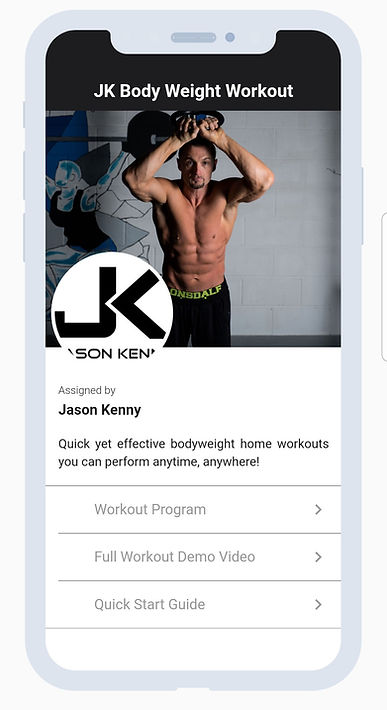 JK Body Weight Training