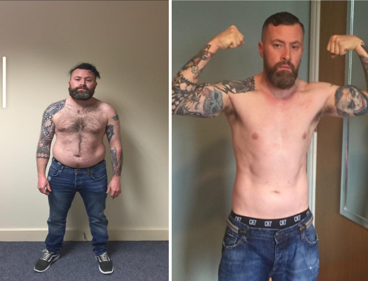 Ray Flynn Before & After