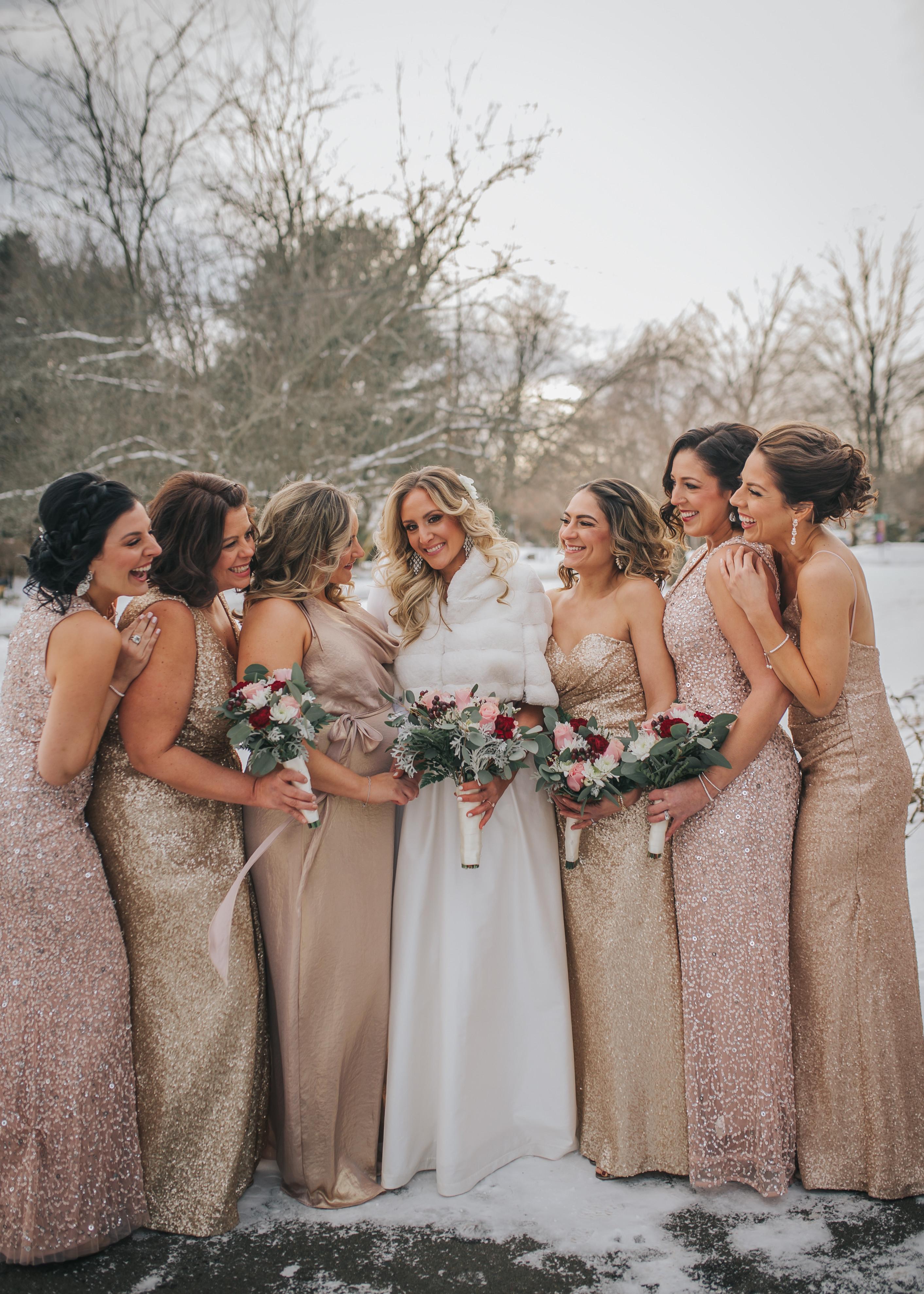Bridesmaid Appt. with 1-3 bridesmaid