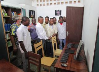 Inauguration de la salle de documentation