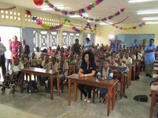 Visite de Bélinda Ayessa