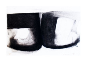 Opposing Forms in Black on White