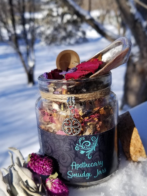 Apothecary Smudge Jars