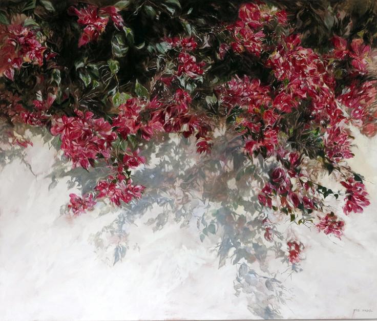 Bouganvillea-Acrylic-100X120-2013