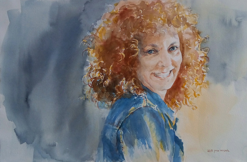Talya-Watercolor-55X36cm-2019