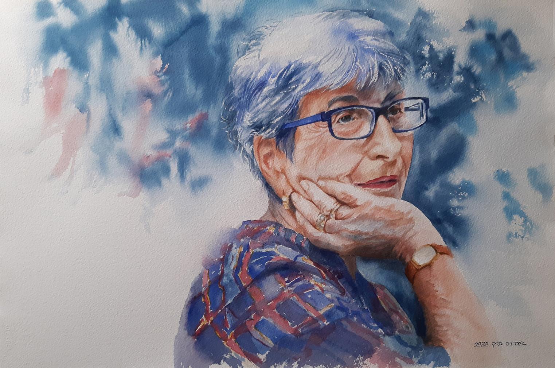 Haya-Watercolor-55X35cm-2020