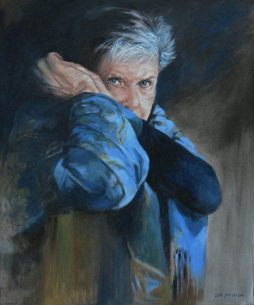 Self portrait-Oil-50X60cm-2017