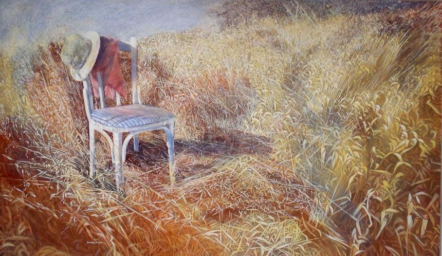 The chair-Acrylic-164X96-1996